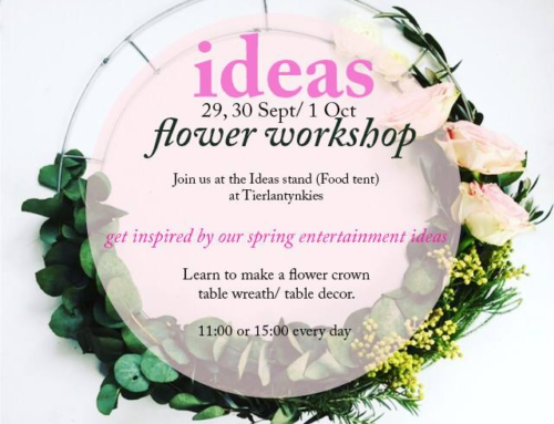 |  I D E A S  | FLOWER WORKSHOP